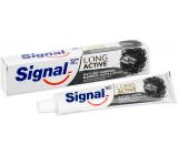 Signal Long Active Naturals Elements Charcoal White & Detox zubná pasta s aktívnym uhlím 75 ml