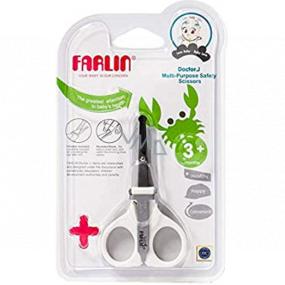 Baby Farlin Nožnice s pilníčkom pre deti 3+