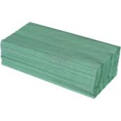 Katrin Z-Z Papírové ručníky skládané jednovrstvé zelené, 250 kusů
