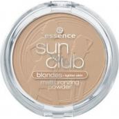 Essence Sun Club Blondes zmatňujúci bronzový púder 01 Natural 15 g