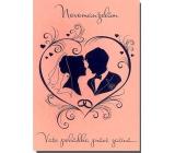 Albi Hracie prianie do obálky K svadbe Lásko má, já STUN Helena Vondráčková 14,8 x 21 cm