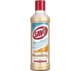 Savo Laminátové povrchy bez chlóru tekutý čistiaci a dezinfekčný prípravok na podlahy 1 l
