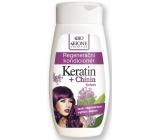 Bion Cosmetics Keratín & Chinín regeneračný kondicionér na vlasy 260 ml