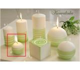Lima Aromatická špirála Konvalinka sviečka bielo - zelená guľa 60 mm 1 kus