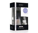 Millefiori Natural White Musk - Bílé pižmo Difuzér 100 ml + svíčka 180 g dárková sada
