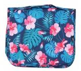 Albi Original Cestovná závesná kozmetická taška Ibištek 24 cm × 19 cm × 8 cm