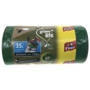 Fino Green Life Easy pack sáčok do koša 35 l 50 x 55 cm 22 kusov