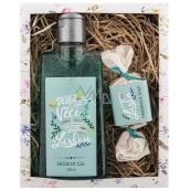 Bohemia Gifts & Cosmetics Láska sprchový gel 200 ml + mýdlo 30 g, kosmetická sada
