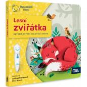 Albi Kúzelné čítanie interaktívne minikniha Lesné zvieratká, vek 2+