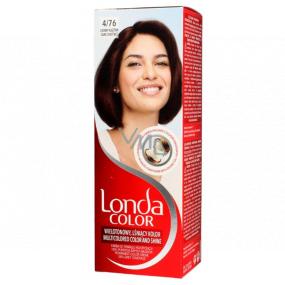 Londa Color farba na vlasy 4/76 Tmavý gaštan