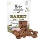 Brit Jerky Sušené masovej maškrty z králika a kurčaťa pre dospelých psov 80 g