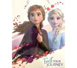 Nekupto Darčeková papierová taška 32 x 26 x 12 cm Disney Frozen 2000 L-LGL