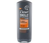 Dove Men + Care sportcar 3v1 Endurance sprchový gél pre mužov 250 ml