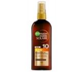 Garnier Ambre Solaire SPF10 olej na opalování 150 ml low