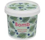 Bomb Cosmetics Černý rybíz Přírodní sprchový tělový peeling 365 ml