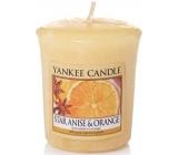 Yankee Candle Star Anise & Orange - Anýz a pomeranč vonná svíčka votivní 49 g