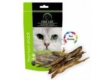 Fine Cat Premium Snack rybičky sušené - chutné přírodní pamlsky pro kočky všech ras 40 g
