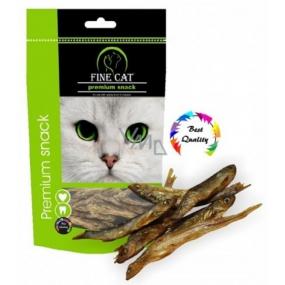 Fine Cat Premium Snack rybičky sušené - chutné prírodné maškrty pre mačky všetkých rás 40 g