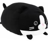 Albi Humorný vankúš veľký Čierna mačka 36 x 30 cm