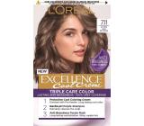 Loreal Paris Excellence Cool Creme farba na vlasy 7.11 Ultra popolavá blond