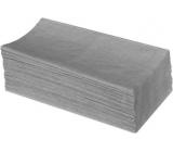 Katrin Z-Z Papírové ručníky skládané jednovrstvé šedé, 250 kusů