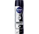 Nivea Men Invisible for Black & White antiperspirant deodorant sprej pro muže 150 ml