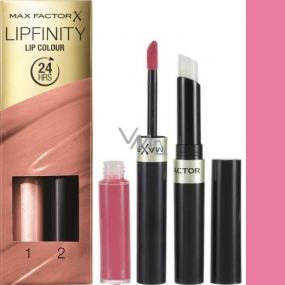 Max Factor Lipfinity Lip Colour rtěnka a lesk 022 Forever Lolita 2,3 ml a 1,9 g