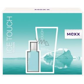 Mexx Ice Touch Woman toaletní voda 15 ml + sprchový gel 50 ml, dárková sada