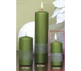 Lima Stuha sviečka valec svetlozelená 50 x 100 mm 1 kus