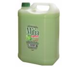 Mitia Family Green Apple tekuté mydlo náhradná náplň 5 l