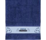 Albi Uterák Športové maniak modrý 90 x 50 cm
