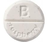 Bomb Cosmetics Malina - Raspbery Blower aromaterapie tableta do sprchy 1 kus
