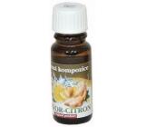 Slow-Natur Zázvor s citrónom Vonný olej 10 ml
