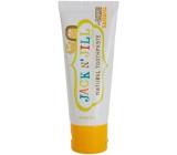 Jack N Jill BIO Banán prírodné zubná pasta pre deti 50 g