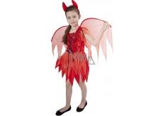 Karnevalový kostým Čertica detská veľkosť M