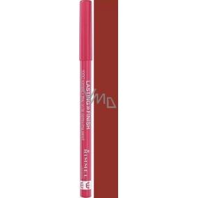 Rimmel London 1000 Kisses Stay On Lip Liner ceruzka na pery 045 Café Au Lait 1,2 g