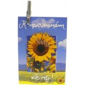 Nekupto Darčeková kartička K narodeninám všetko naj! 7 x 5,5 cm 1 kus