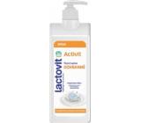 Lactovit Activity telové mlieko s aktívnou ochranou s dávkovačom 400 ml