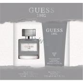 Guess Guess 1981 for Men toaletní voda pro muže 30 ml + sprchový gel 200 ml, dárková sada