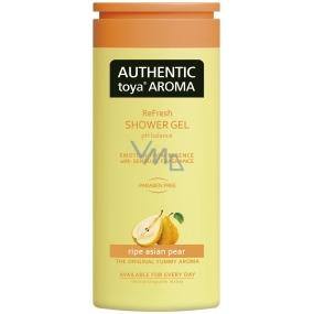 Authentic Toya Aroma Ripe Asian Pear aromatický sprchový gel 400 ml