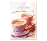 Ditipo Hracie želanie Dať si kávu s kamarátkou, Pár priateľov stačí mať, Michal David 224 x 157 mm