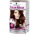 Schwarzkopf Color Mask barva na vlasy 568 Kaštanově hnědý