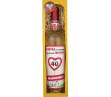 Bohemia Gifts Chardonnay Všetko najlepšie 40 biele darčekové víno 750 ml