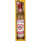 Bohemia Gifts & Cosmetics Chardonnay Vše nejlepší 40 bílé dárkové víno 750 ml