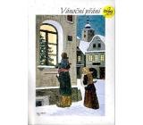 Albi Hracie prianie do obálky Vianočné prianie Dni darčekov a želania Karel Gott 14,8 x 21 cm