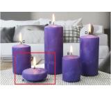 Lima Ľadová sviečka fialová plávajúca šošovka 70 x 30 mm 1 kus