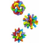 Papillon Latex Gumové hračky prepletané 7 cm rôzne druhy