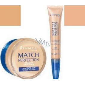 Rimmel London Match Perfection krémový make-up 303 18 ml + korektor 7 ml