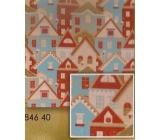 Nekupto Baliaci papier vianočné Domky 0,7 x 1,5 m