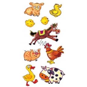 Tetovanie farebné s koňom 16,5 x 10,5 cm 1 kus